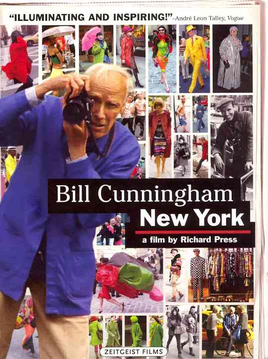 BILL CUNNINGHAM NEW YORK BY CUNNINGHAM,BILL (DVD)